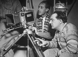 Fritz Lang et Curt Courant