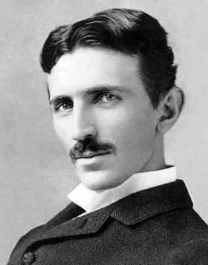 English: The photograph image of Nikola Tesla ...