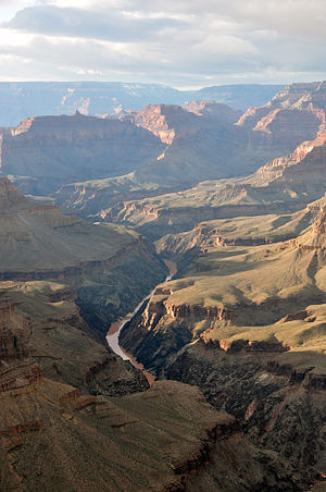 English: Grand Canyon view from Hermit's Rest
