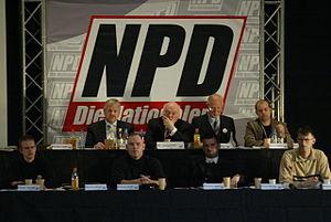 Vorstand beim NPD-Bundesparteitag 2006