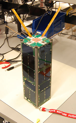 English: The first Radio Aurora Explorer CubeS...