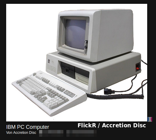 IBM PC Computer | Flickr / Accretion Disc