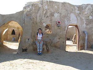 Starwars Village on Tatooine