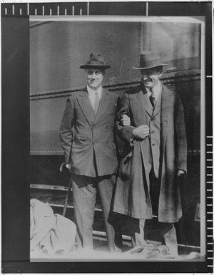 Franklin D. Roosevelt and Henry Morgenthau Jr ...