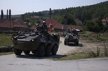 English: peace operation Deutsch: Mannschaftst...