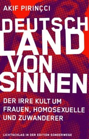 Akif Pirincci: Deutschland von Sinnen: Der irre Kult um Frauen, Homosexuelle und Zuwanderer