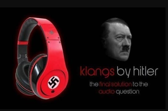 """klangs by hitler"": Nazi-Kopfhörer erregt die Gemüter (Foto: massdrop.com)"