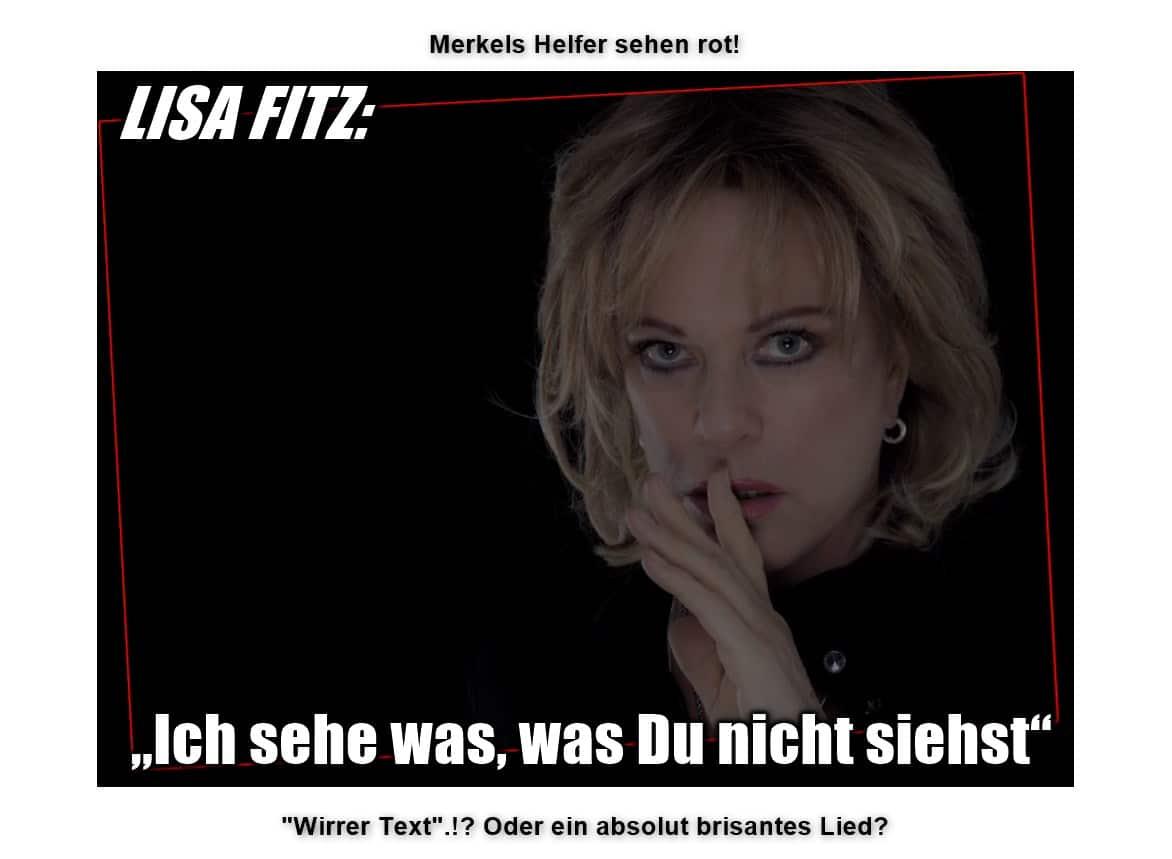 """Lisa Fitz: """"Ich sehe was -was DU NICHT siehst!"""" -"""